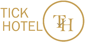 Tick Hotel. A Place where Class meets Style Logo